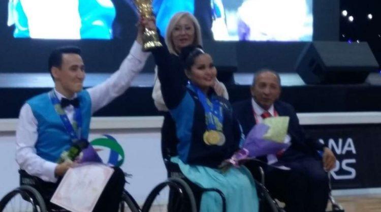 Чемпионат Казахстана по паратанцам завершился в Алматы