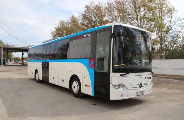 Электронную оплату за проезд внедряют в автобусах Костаная