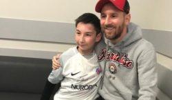 Казахстанский Вуйчич встретился с Месси и другими звездами «Барселоны»