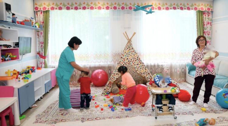 Новая страница для детей Дома ребенка в Рудном