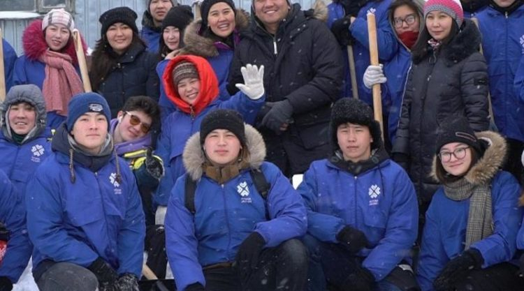В столице запустили челлендж по уборке снега