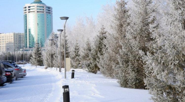 Какая погода ждет астанчан в конце января и в феврале