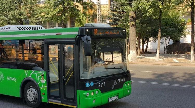 В Алматы запущен новый автобусный маршрут №39 от микрорайона Дария до Шаймерденова