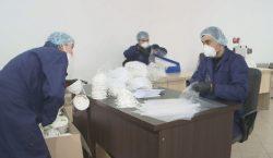 Цех по изготовлению респираторов открылся в Караганде