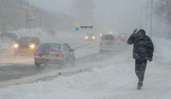 Снегопады и бураны обещают синоптики 28 февраля в Казахстане