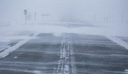 Дорогу из Нур-Султана в Темиртау закрыли из-за метели